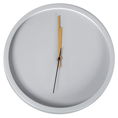 Relógio de Parede Olimpo 30cm Cinza - Casa Etna