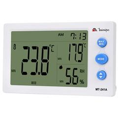 Relógio Digital Termo-Higrômetro Mt-241a Branco - Minipa