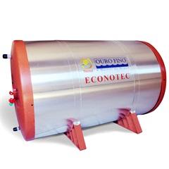 Reservatório para Aquecedor Solar New Econotec 200 Litros - Ouro Fino