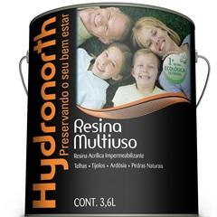 Resina Acrílica Impermeabilizante Multiuso Concreto 3.6 Litros - Hydronorth