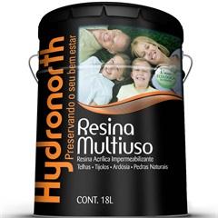 Resina Acrílica Impermeabilizante Multiuso Incolor 18 Litros