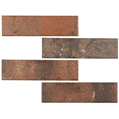 Revestimento Acetinado Borda Bold All Bricks Georgian Blend 7x26cm - Portobello