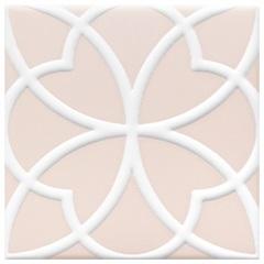 Revestimento Acetinado Borda Bold Aura Rosa 15x15cm - Eliane