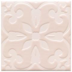 Revestimento Acetinado Borda Bold Austral 2 Rosa 15x15cm - Eliane