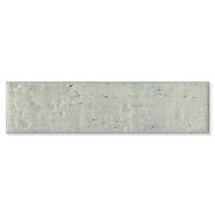 Revestimento Acetinado Borda Bold Cemento Cinza 6,5x25,6cm - Pierini