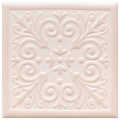 Revestimento Acetinado Borda Bold Etereo 1 Rosa 15x15cm - Eliane