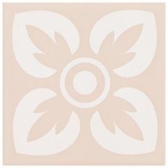 Revestimento Acetinado Borda Bold Horizonte Rosa 15x15cm - Eliane
