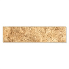 Revestimento Acetinado Borda Bold Indua Marrom 6,5x25,6cm - Pierini