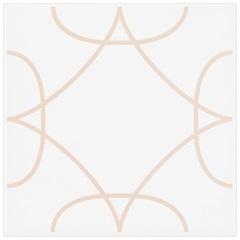 Revestimento Acetinado Borda Bold Magneto Rosa 15x15cm - Eliane