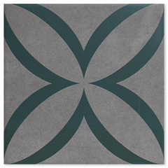 Revestimento Acetinado Borda Bold Patch Green 21,5x21,5cm - Incepa