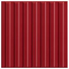 Revestimento Acetinado Borda Bold Poente Linha Vermelho 15x15cm - Eliane