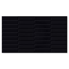 Revestimento Acetinado Borda Bold Porto Black 32x57cm - Carmelo Fior