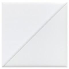Revestimento Acetinado Borda Bold Solaris 1 Branco 15x15cm - Eliane