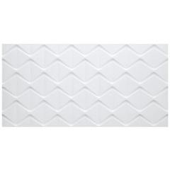 Revestimento Acetinado Borda Reta Cartier Blanc 45x90cm - Eliane