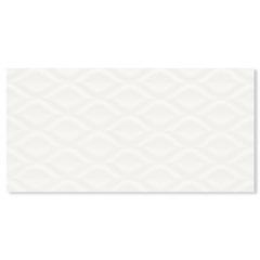 Revestimento Acetinado Borda Reta Charm Kiss White 29,1x58,4cm - Portinari