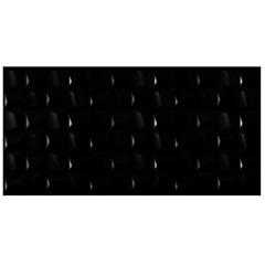 Revestimento Acetinado Borda Reta Cubic Black 45x90cm - Eliane