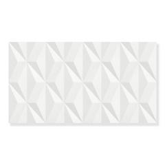 Revestimento Acetinado Borda Reta Escala Branco 32,5x59cm - Eliane