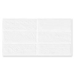Revestimento Acetinado Borda Reta Laterizi Bianco 32x60cm - Biancogres