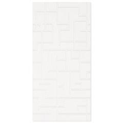 Revestimento Acetinado Borda Reta Maze White 32,5x66,5cm - Elizabeth