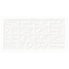 Revestimento Acetinado Borda Reta Menfi Bianco 37x74cm - Fioranno