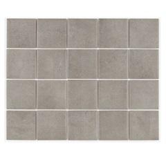 Revestimento Acetinado Borda Reta Munari Concreto Mesh 7,5x7,5cm - Eliane