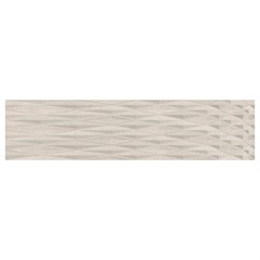 Revestimento Acetinado Borda Reta Pipas Beton 28,8x119cm - Ceusa