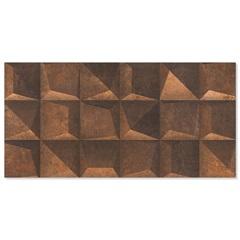 Revestimento Acetinado Borda Reta Rodin Shadow Corten 45x90cm - Eliane