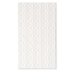 Revestimento Acetinado Borda Reta Stelle Lux Bianco Branco 32x60cm - Biancogres
