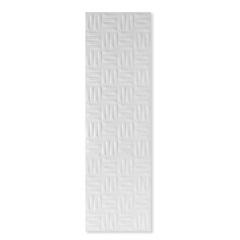 Revestimento Acetinado Borda Reta Tasti Bianchi Branco 28x92cm - Porto Ferreira