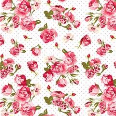 Revestimento Auto Adesivo Floral Rosas 45cm com 2 Metros - Plastcover