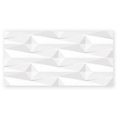 Revestimento Borda Reta Abstrate Branco 38x74cm - Savane