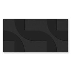 Revestimento Borda Reta Enigma Dark 38x74cm - Savane