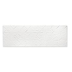 Revestimento Borda Reta Evidence Origami Matte Lux Branco 29,1x87,7cm - Cerâmica Portinari