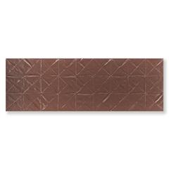 Revestimento Borda Reta Evidence Origami Steel Matte Lux Ouro 29,1x87,7cm - Cerâmica Portinari