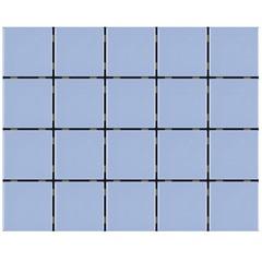 Revestimento Brilhante Borda Bold Azul Laguna 7,5x7,5cm - Eliane