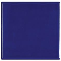 Revestimento Brilhante Borda Bold Azul Naval 15,5x15,5cm - Eliane