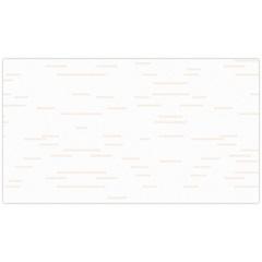 Revestimento Brilhante Borda Bold Cristalatto Branco 32x57cm - Cecafi