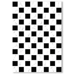 Revestimento Brilhante Borda Bold Dhama Branco E Preto 32x45cm - Formigres