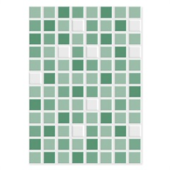 Revestimento Brilhante Borda Bold Dhama Verde 32x45cm