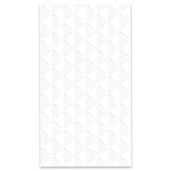 Revestimento Brilhante Borda Bold Lumina Branco 32x57cm - Carmelo Fior