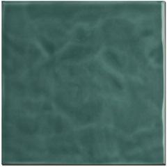 Revestimento Brilhante Borda Bold Marinha Verde Jade Onda 20x20cm - Eliane