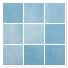 Revestimento Brilhante Borda Bold Noronha Água Mesh Azul 10x10cm - Eliane
