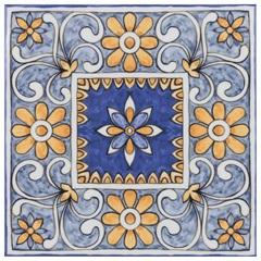 Revestimento Brilhante Borda Bold Patchwork Maiólica 20x20cm - Eliane