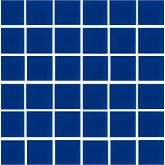 Revestimento Brilhante Borda Bold Piscine Acqua Nautilus Azul Cobalto 9,5x9,5cm - Portobello