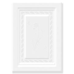 Revestimento Brilhante Borda Bold Tropical White 32x45cm - Formigres