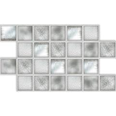 Revestimento Brilhante Borda Bold Vitral 31x54cm - Savane