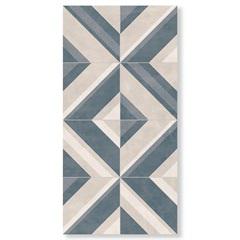 Revestimento Brilhante Borda Reta Blu Line Lux 29,1x58,4cm - Cerâmica Portinari