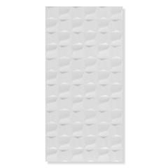 Revestimento Brilhante Borda Reta Cubic White Gloss Branco 45x90cm - Eliane