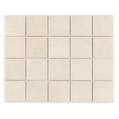 Revestimento Brilhante Borda Reta Munari Marfim Mesh 7,5x7,5cm - Eliane