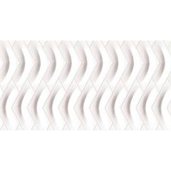 Revestimento Capri Acetinado Retificado Esmaltado Branco 33,8x64,3cm - Ceusa